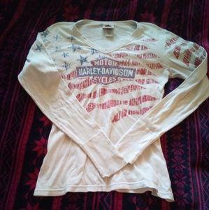 Harley Davidson woman's top